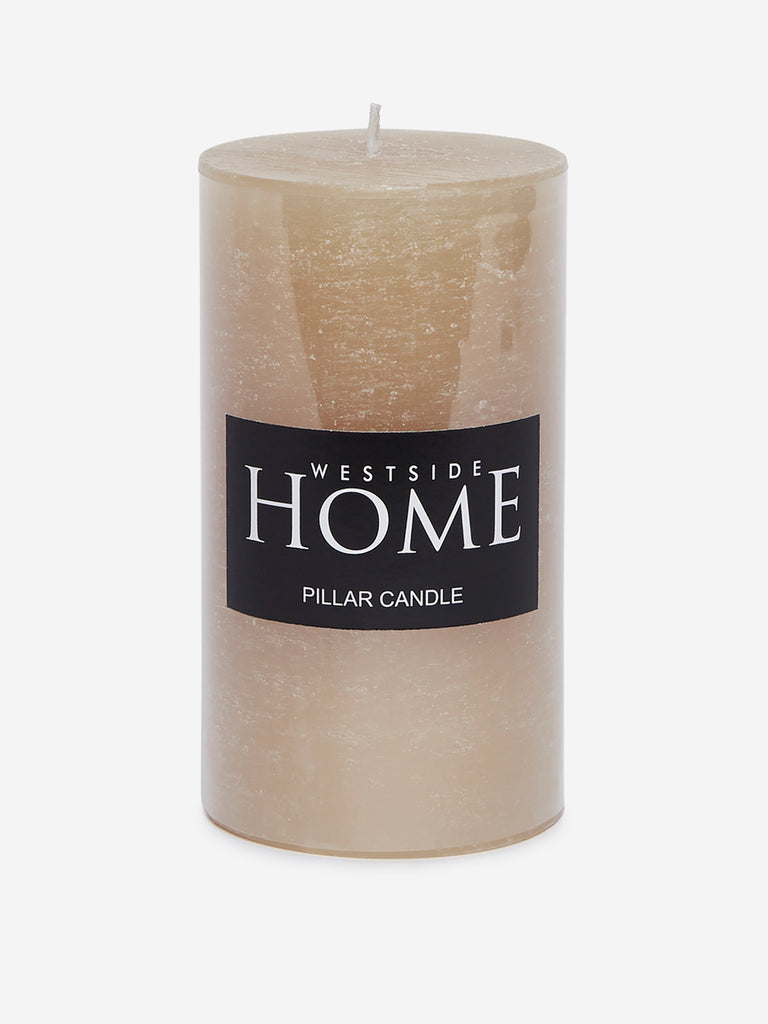Westside Home Gold Pillar Candle
