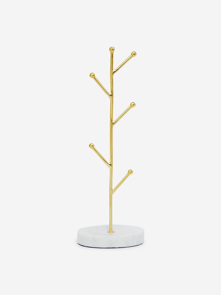 Westside Home Gold Tree-Design Jewellery Stand