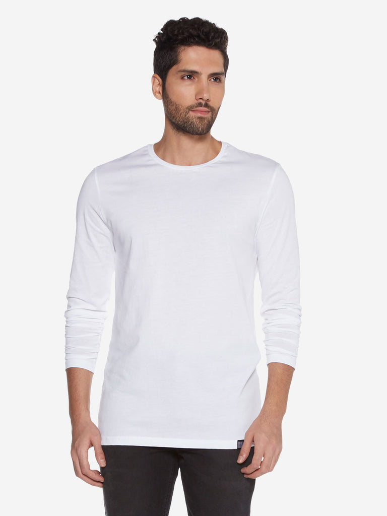 Nuon White Slim Fit T-Shirt