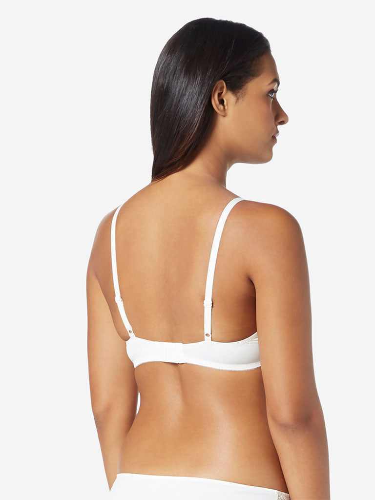 Wunderlove Off-White Alexa Underwired Padded Bra