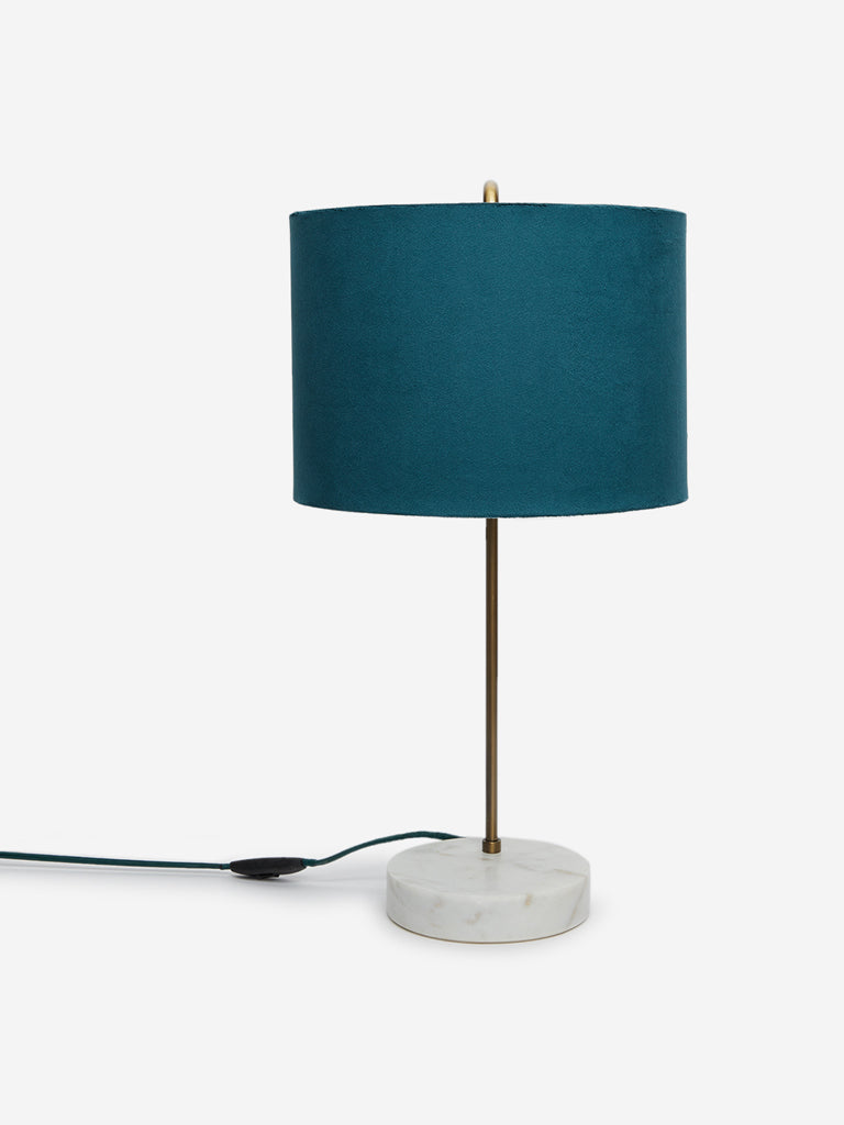 Westside Home Teal Cambridge Table Lamp