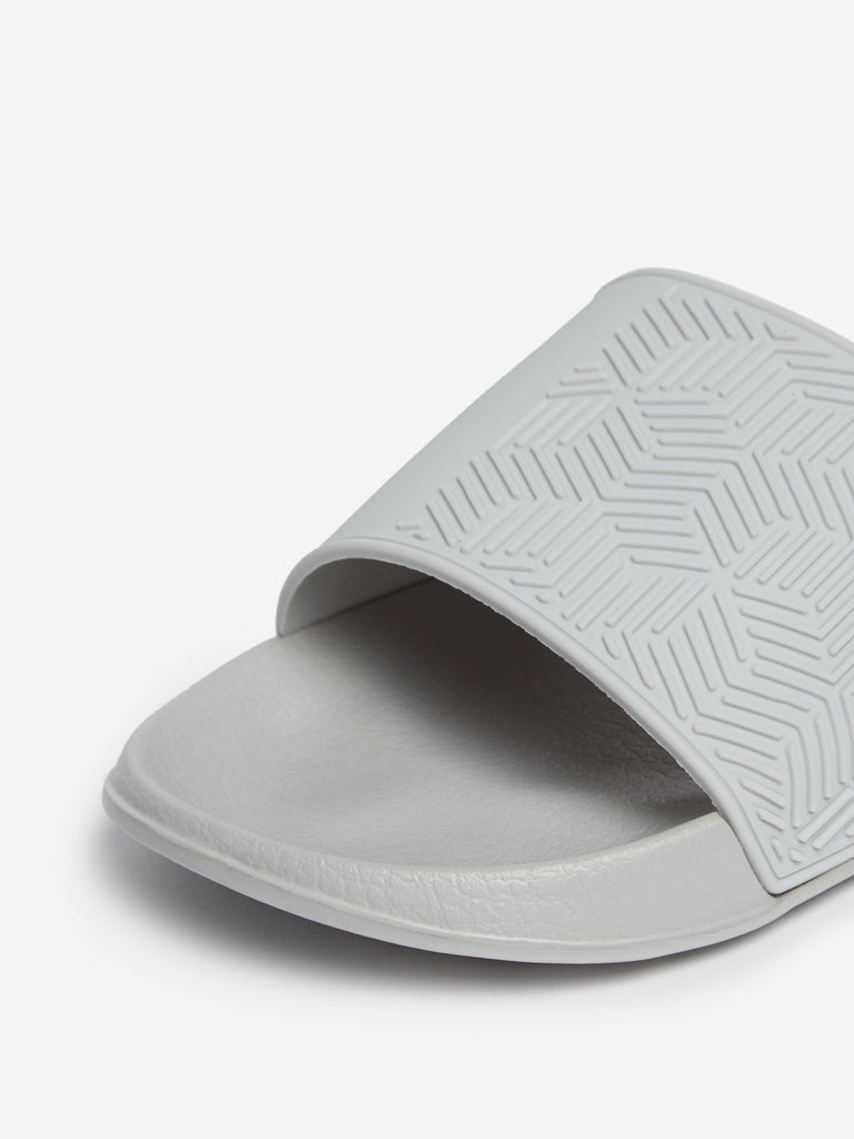 SOLEPLAY Light Grey Textured Pool Slides