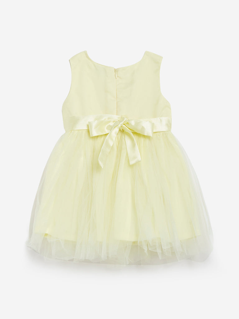 Baby HOP Yellow Floral Dress