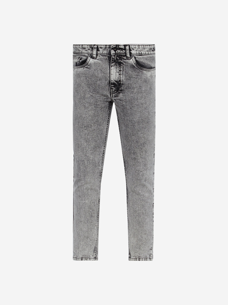 Nuon Charcoal Rodeo Carrot Fit Jeans