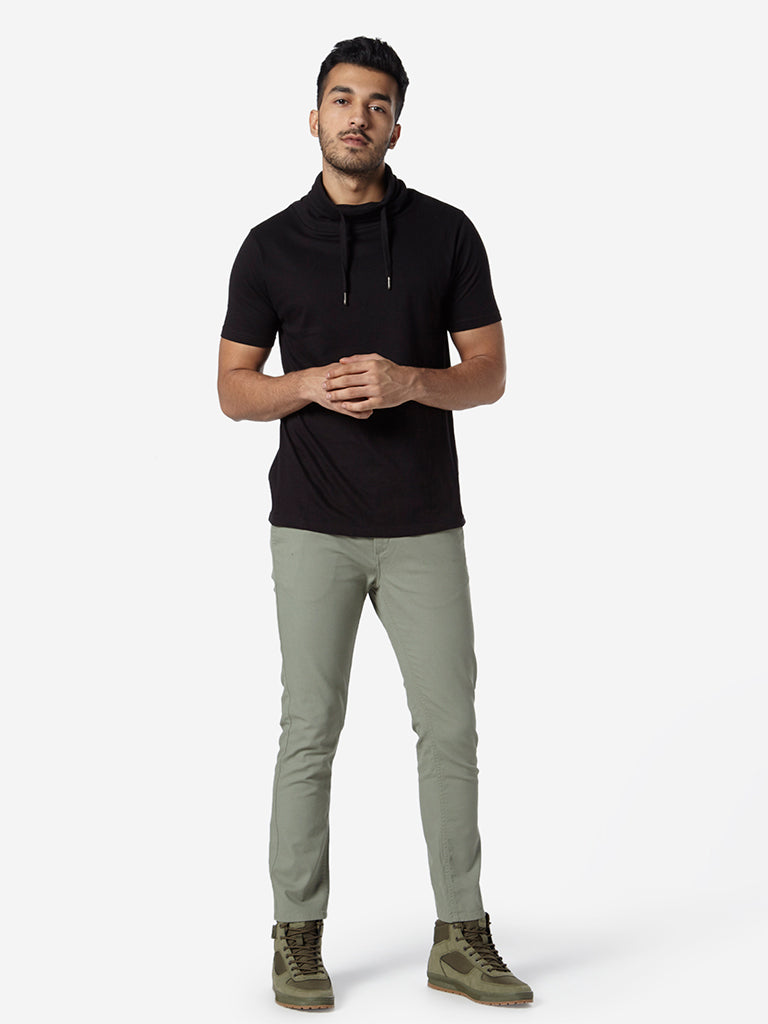 Nuon Light Olive Rocker Skinny Fit Chinos