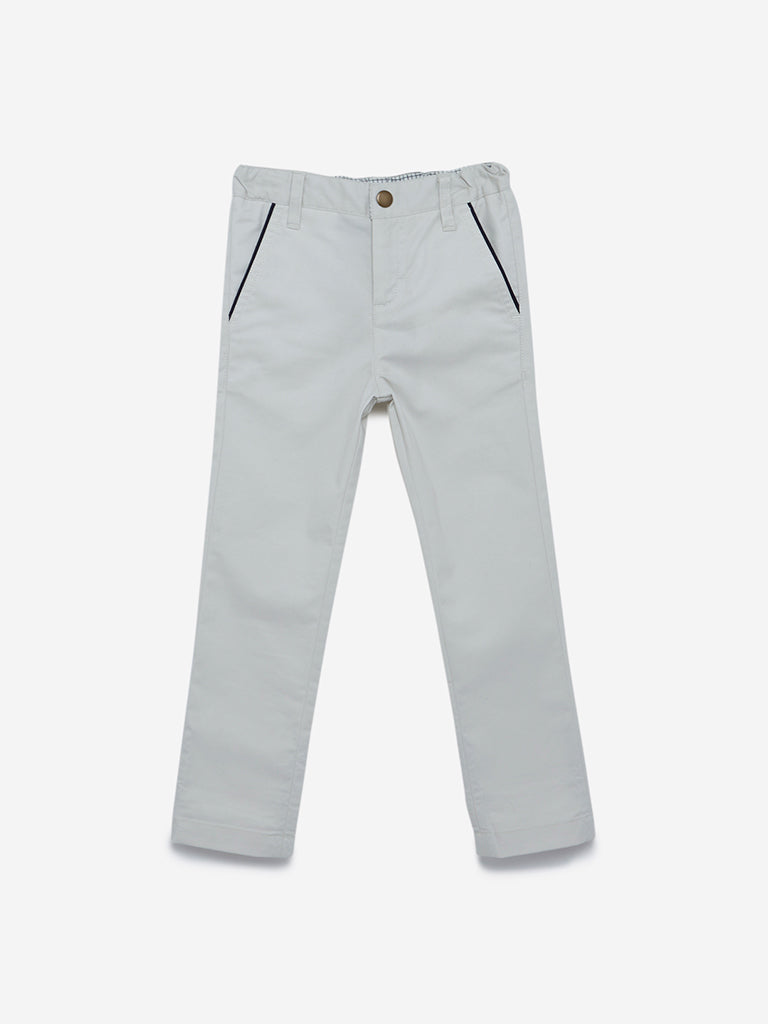 HOP Kids White Jeans