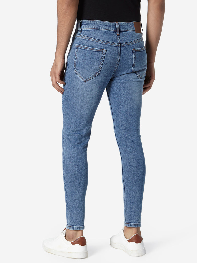 Nuon Blue Rodeo Crop Carrot-Fit Jeans