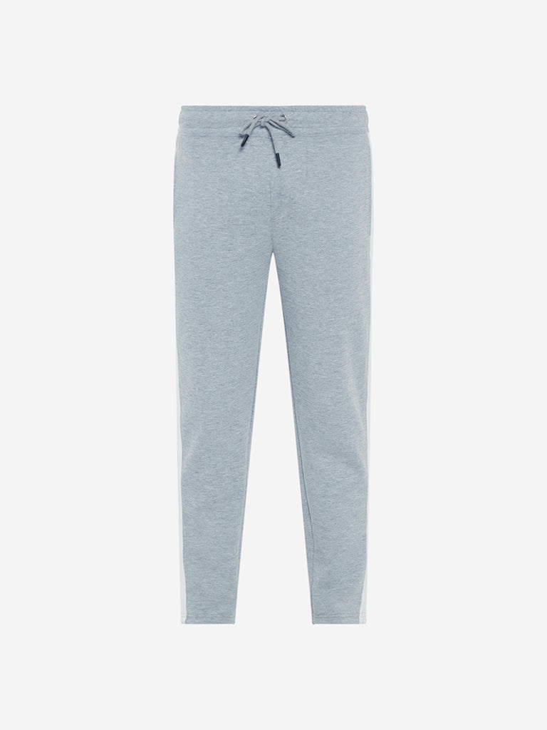 Nuon Grey Melange Slim Fit Joggers