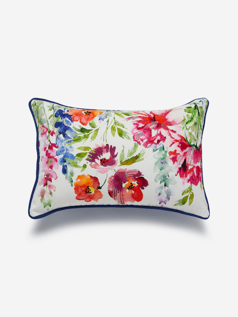 Westside Home Multicolour Floral Cushion Cover