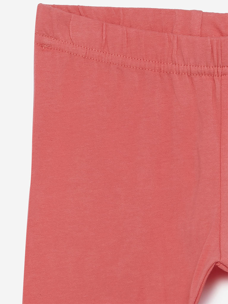 Utsa Kids Coral Leggings
