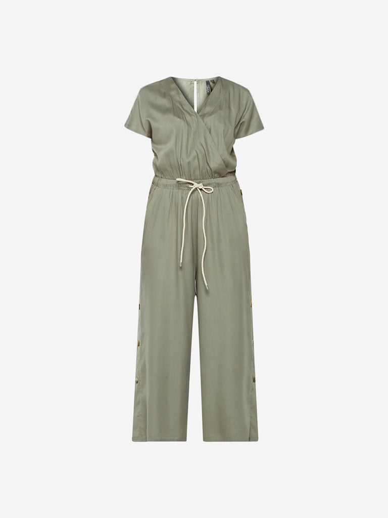 LOV Sage-Green Kansas Jumpsuit