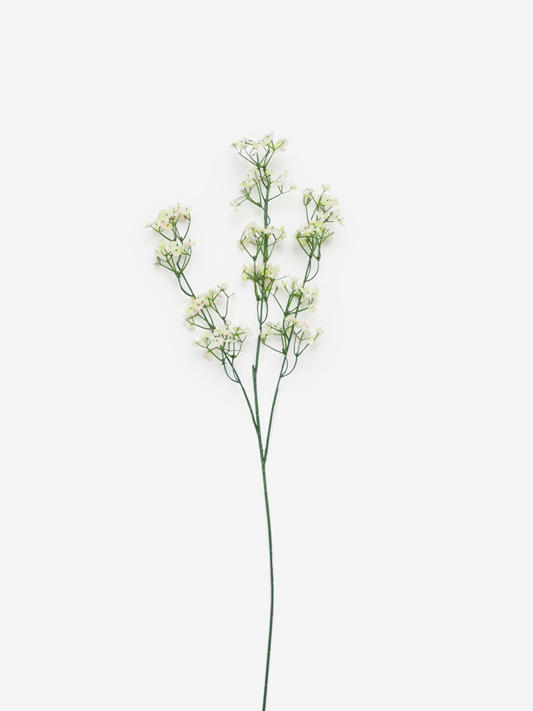 Westside Home White Artificial Gypsophila Flower