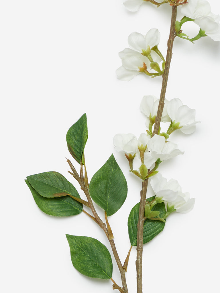 Westside Home White Artificial Pear Flower