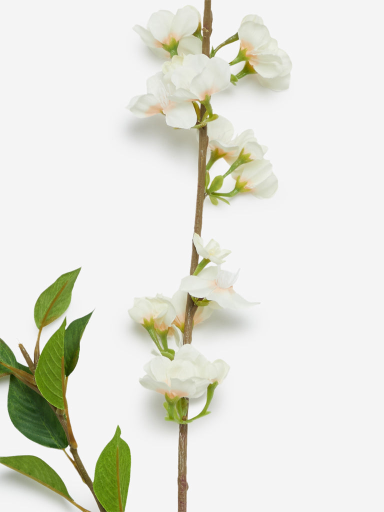 Westside Home Off White White Artificial Pear Flower