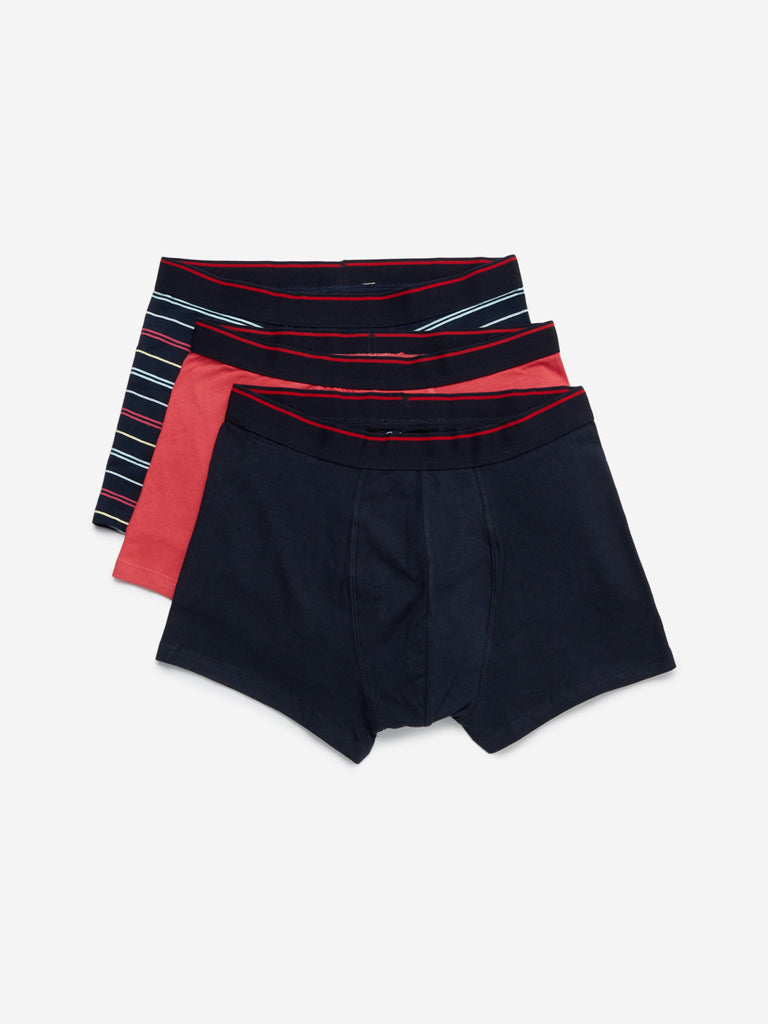 WES Lounge Multi Hydro-Cool Trunks Pack of Three