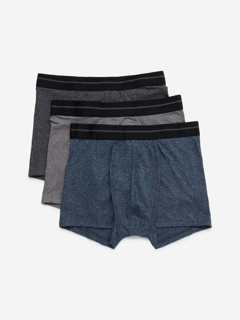 WES Lounge Multi Hydro-Cool Trunks Three Pack