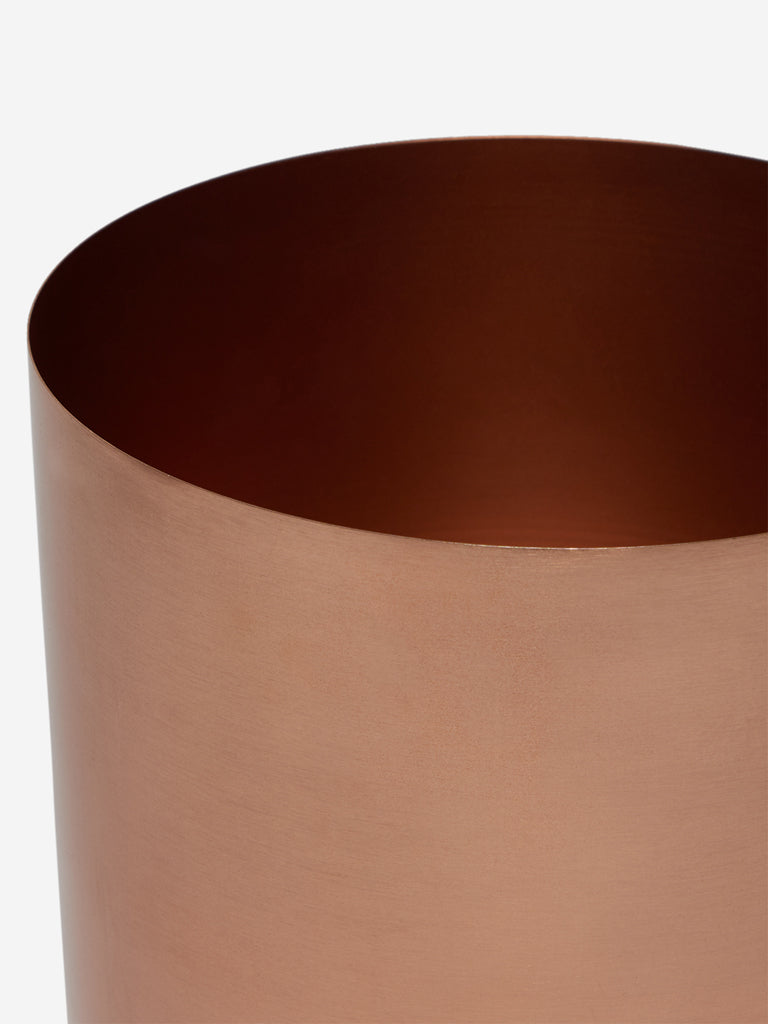 Westside Home Rose-Gold Planter with Stand