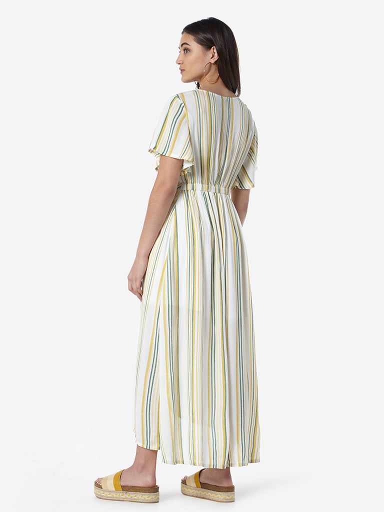 LOV Multicolour Striped Candy Dress