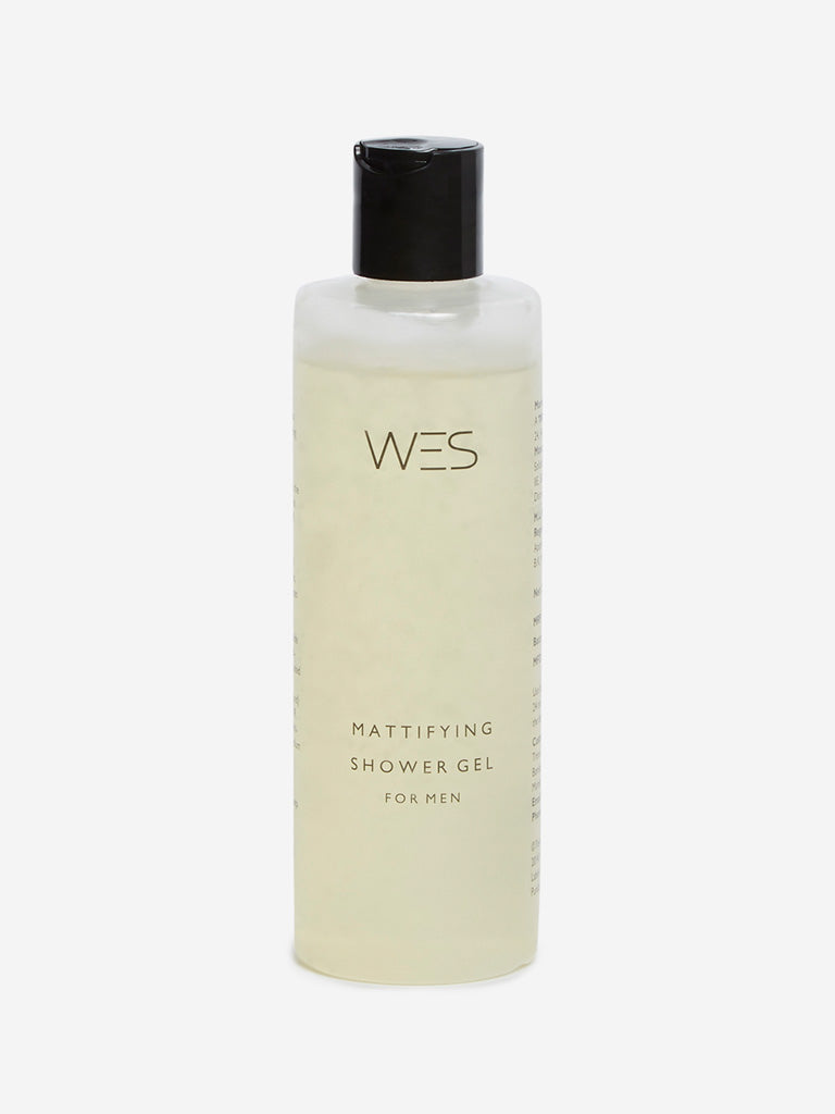 WES Mattifying Shower Gel, 250 ml