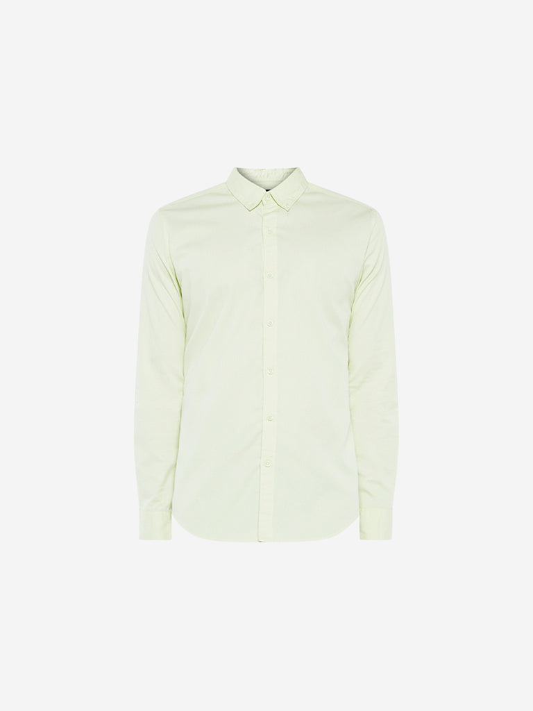 Nuon Lime Slim Fit Shirt