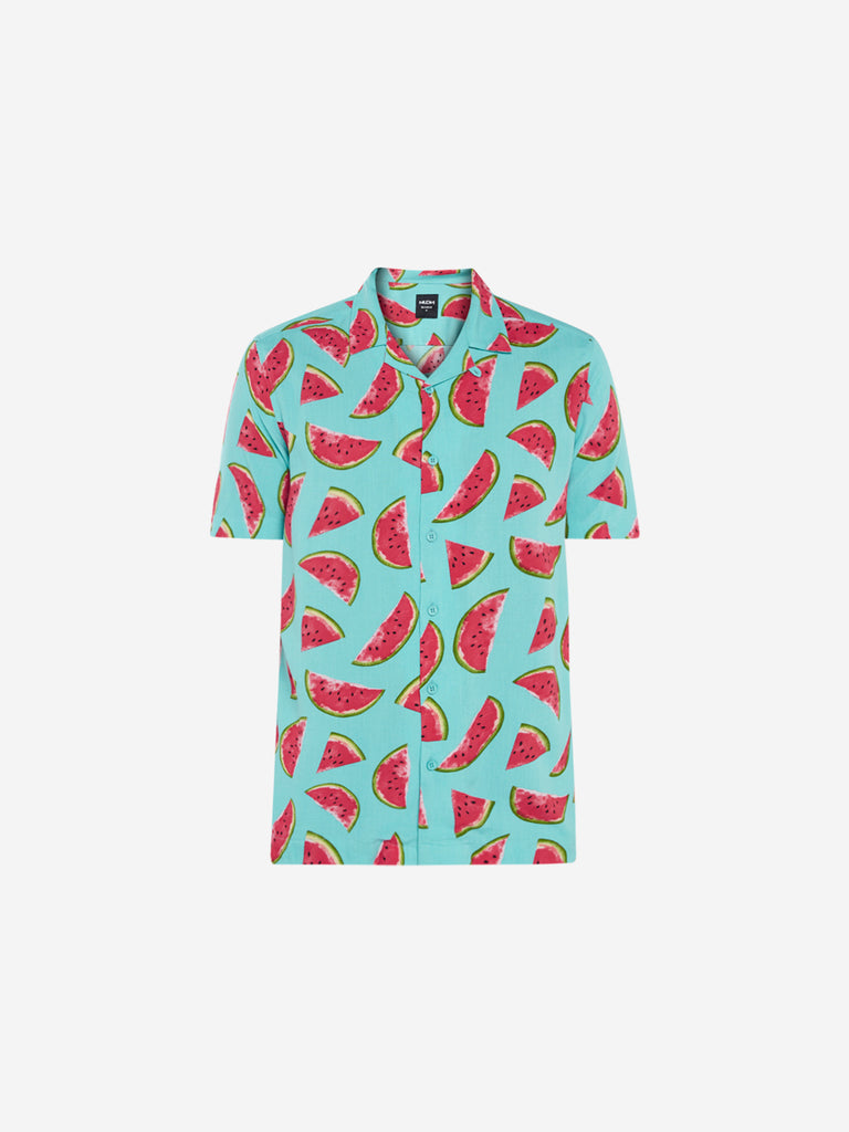 Nuon Aqua Relaxed Fit Watermelon Print Shirt