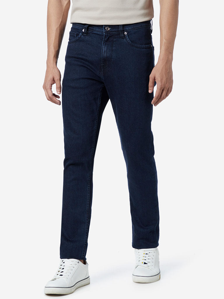 Ascot Dark Blue Slim Fit Jeans
