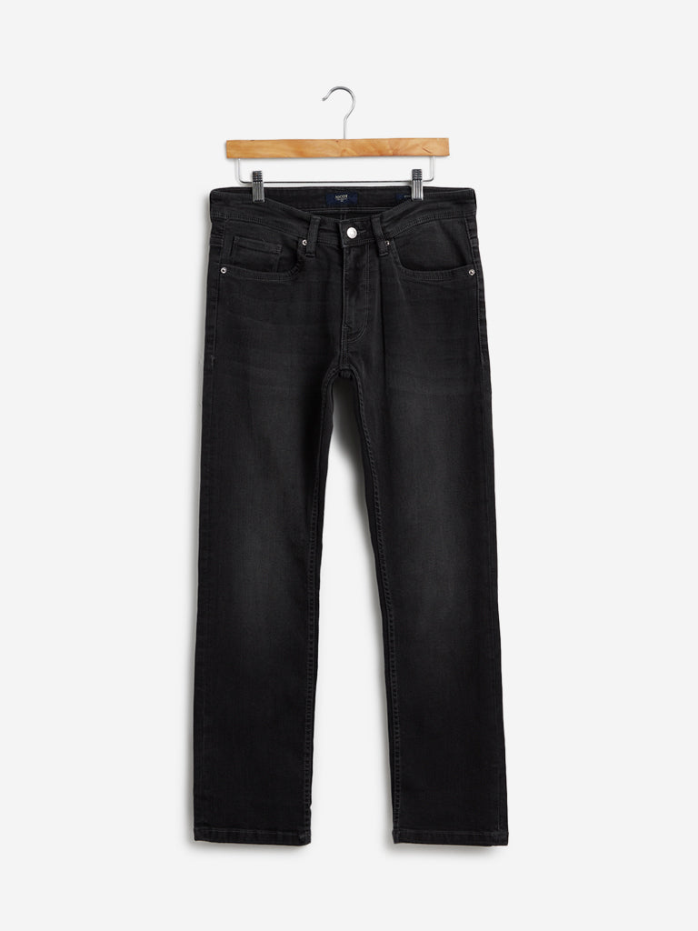Ascot Charcoal Relaxed Fit Jeans