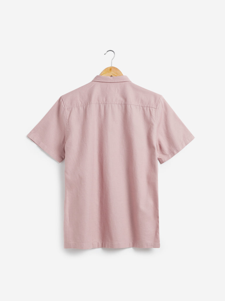 ETA Light Lilac Resort Fit Casual Shirt