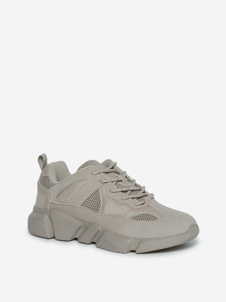 LUNA BLU Light Brown Sneakers