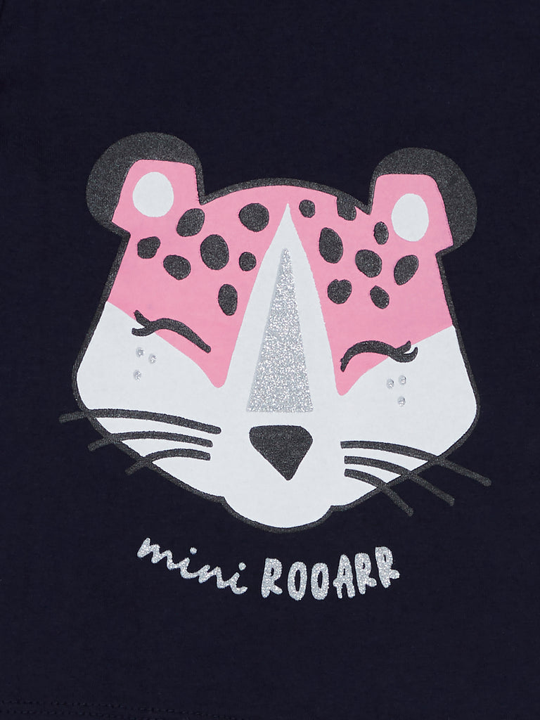 Baby HOP Pink Leopard Pattern T-Shirt Set Of Two