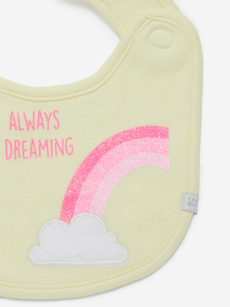 Baby HOP Multicolour Printed Bibs Set Of Three