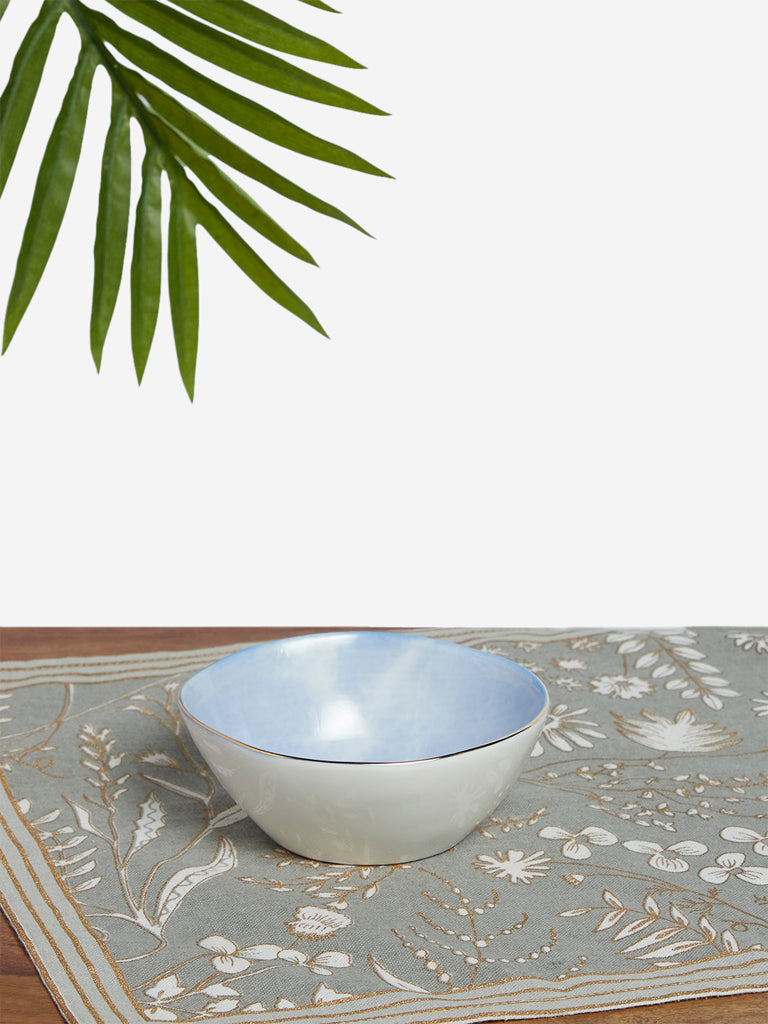 Westside Home Light Blue Small Bowl