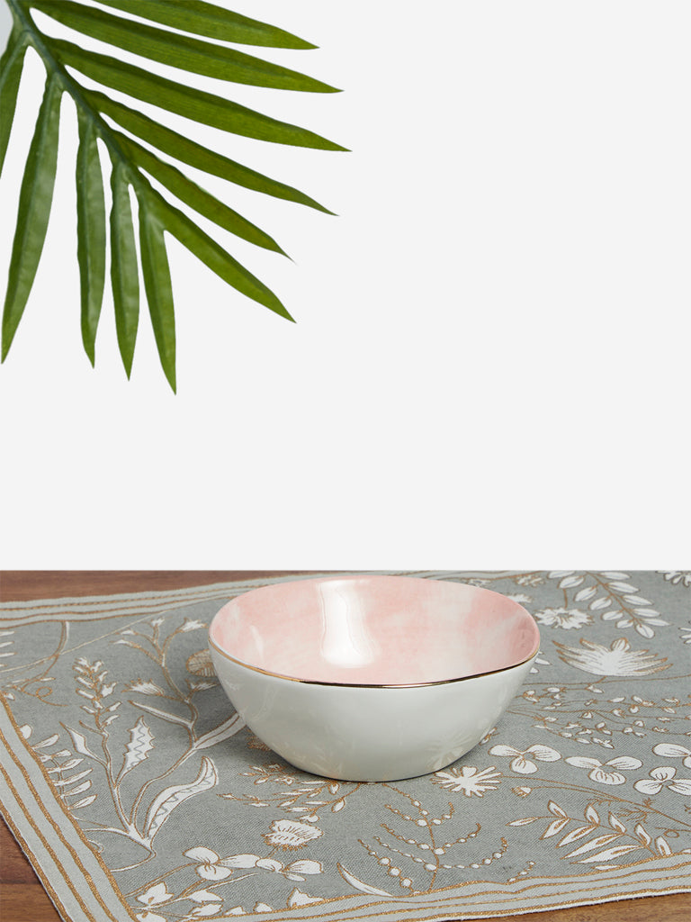 Westside Home Light Pink Small Bowl