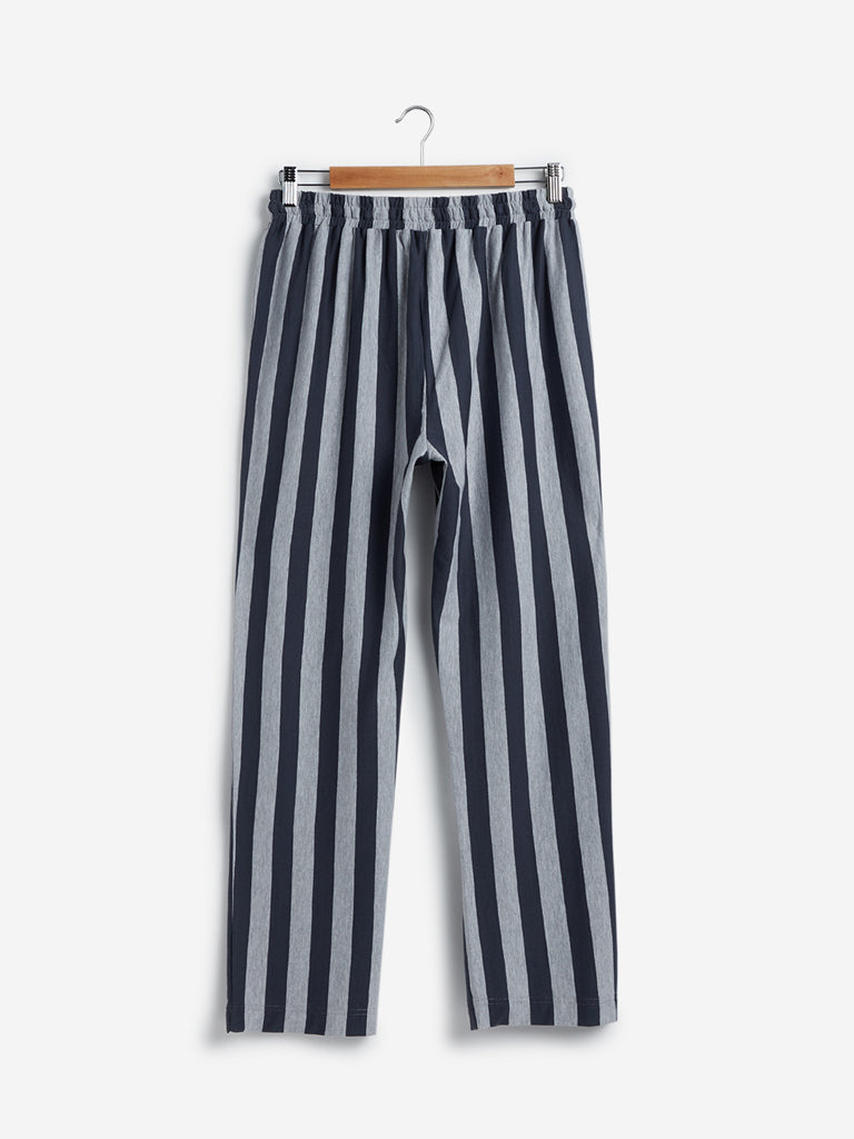Wunderlove Grey Striped Pyjamas