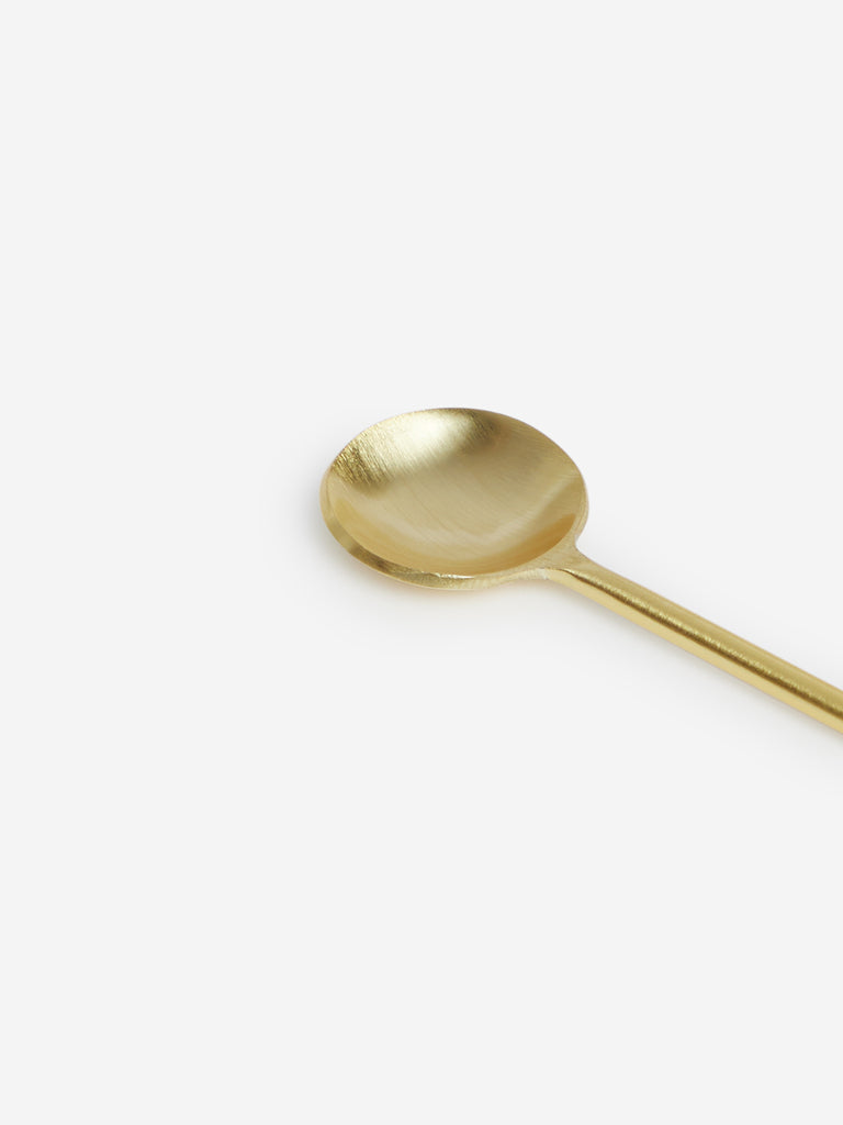 Westside Home Gold Soup Spoons Set Of Four