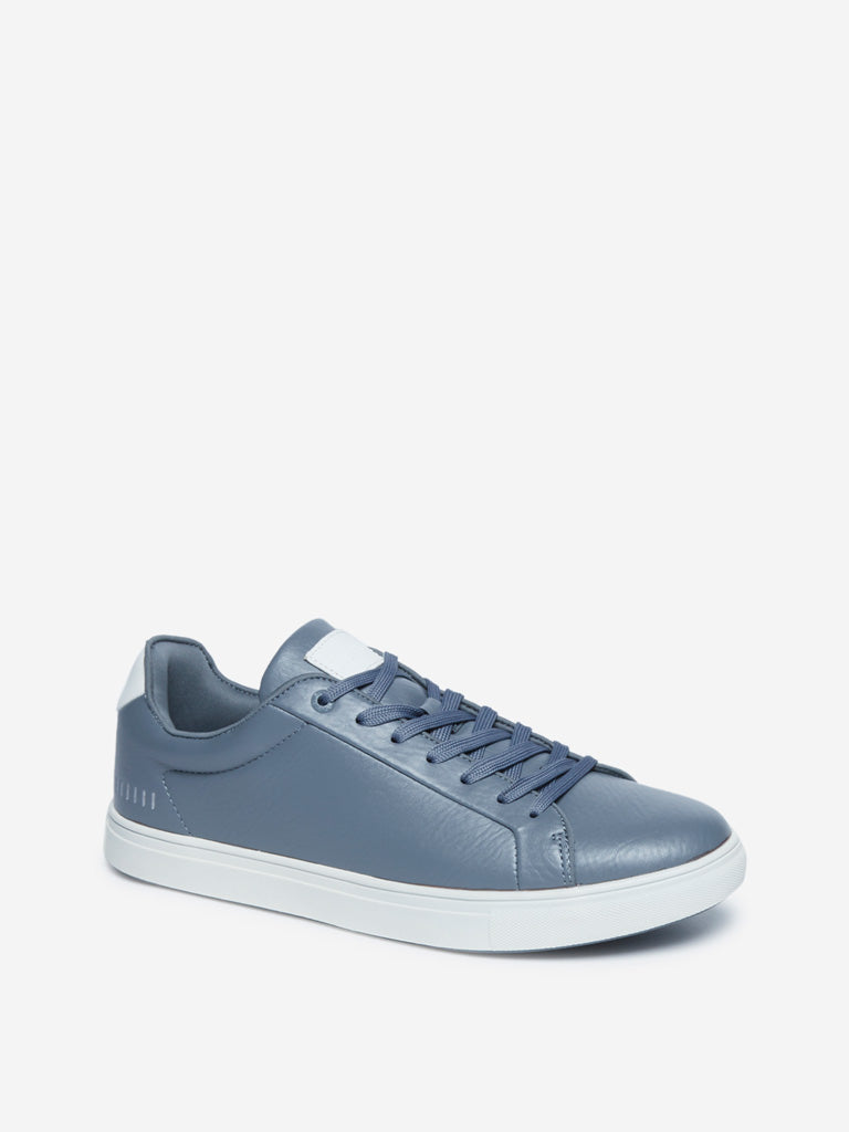 SOLEPLAY Blue Lace-Up Sneakers