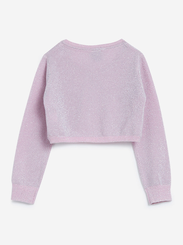 HOP Kids Pink Shrug