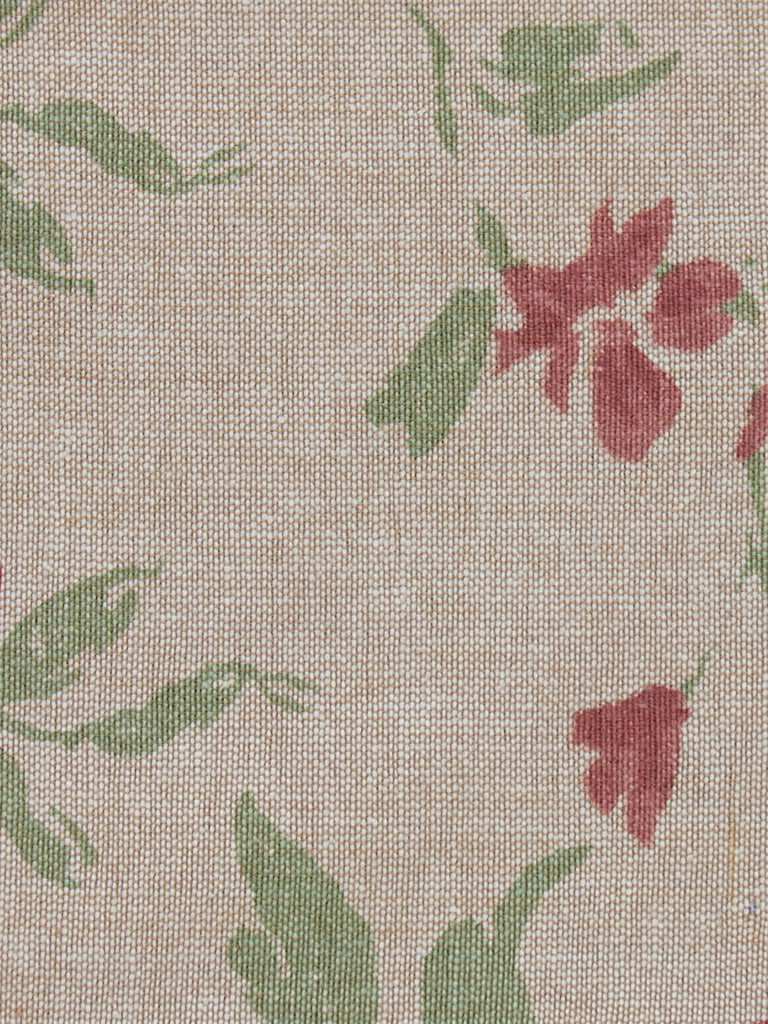 Westside Home Pink Floral Print Placemats Set of Six