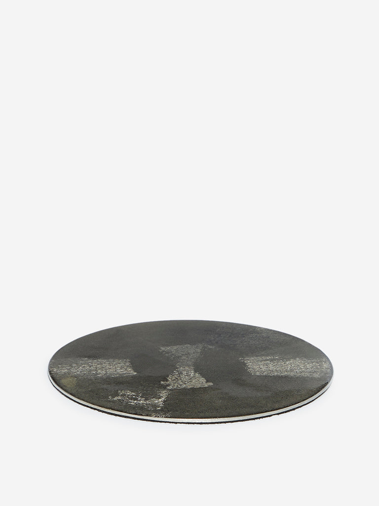 Westside Home Silver Etched Trivet