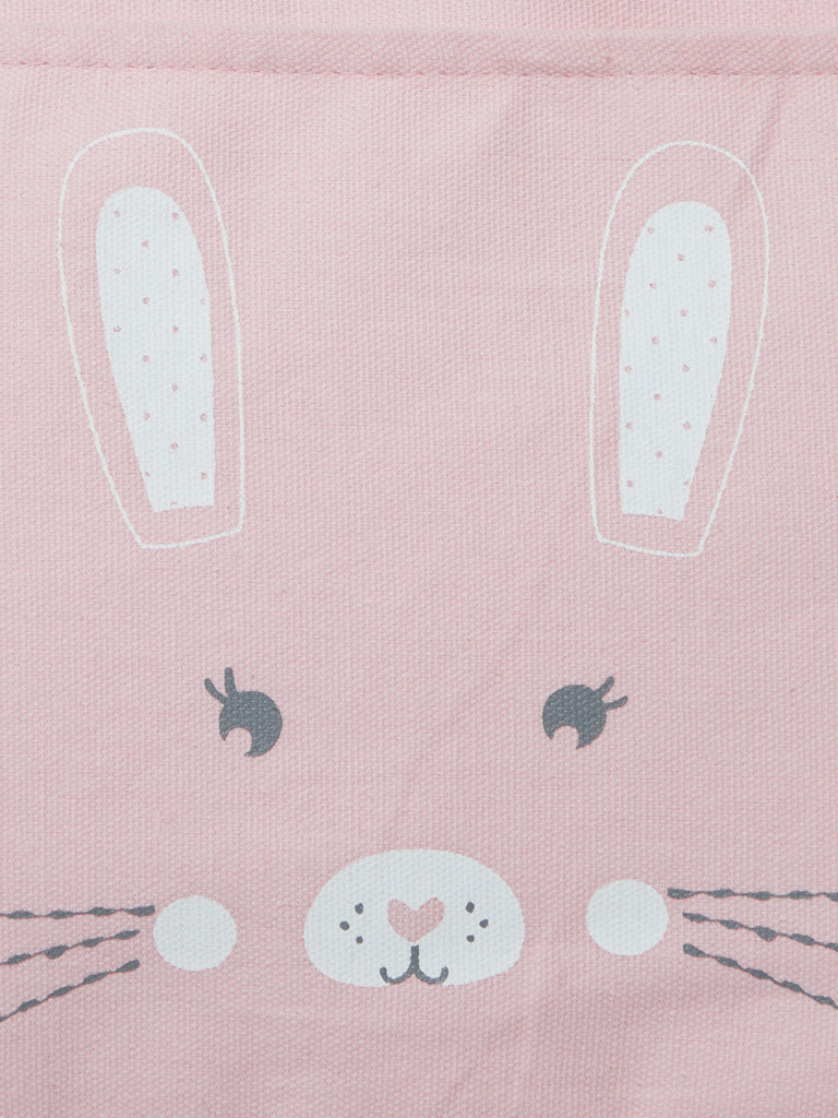 Baby HOP Light Pink Kitten Print Changing Bag