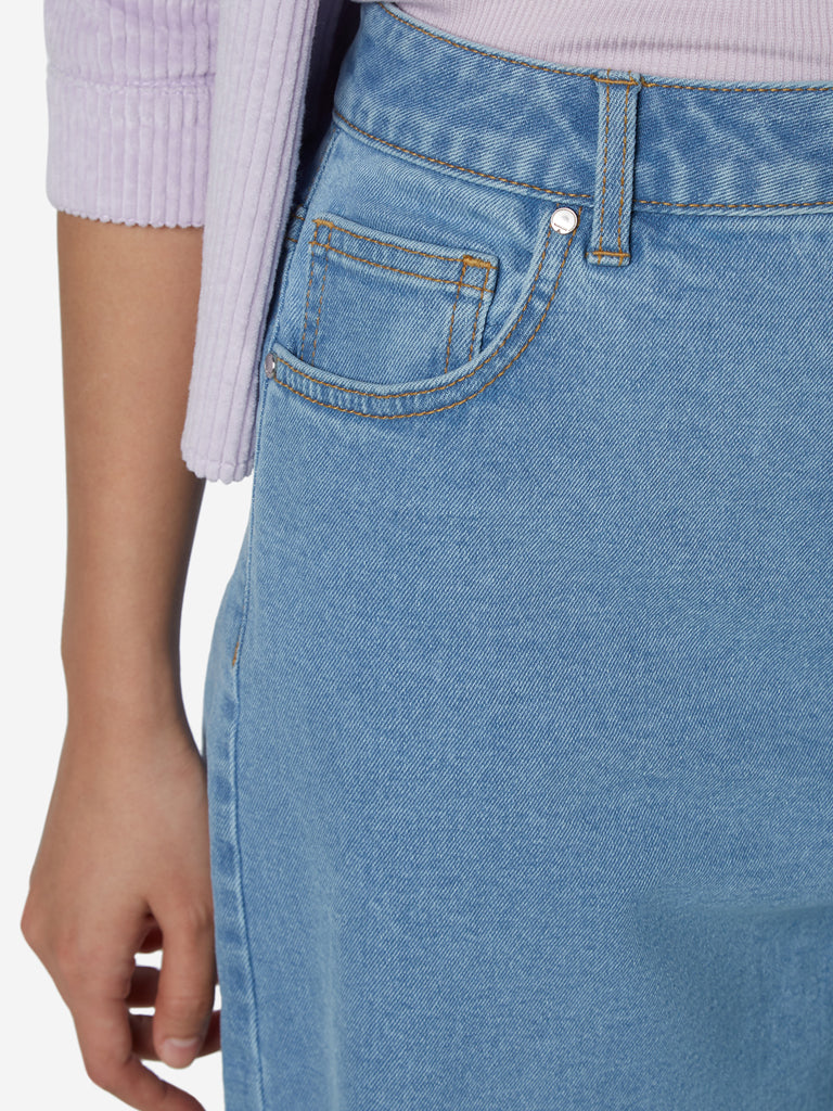 Nuon Light Blue Flared Jeans