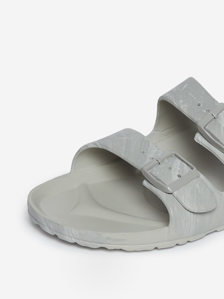 SOLEPLAY Light Grey Buckle Detailed Sandals
