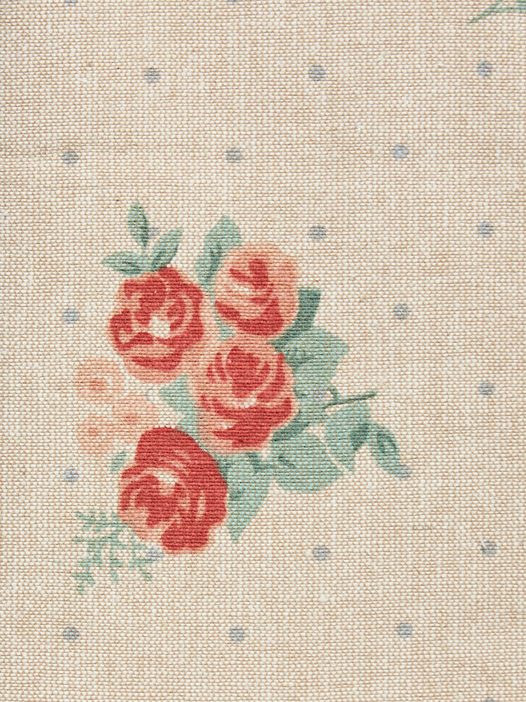 Westside Home Beige Rose Printed Placemats Set of Four