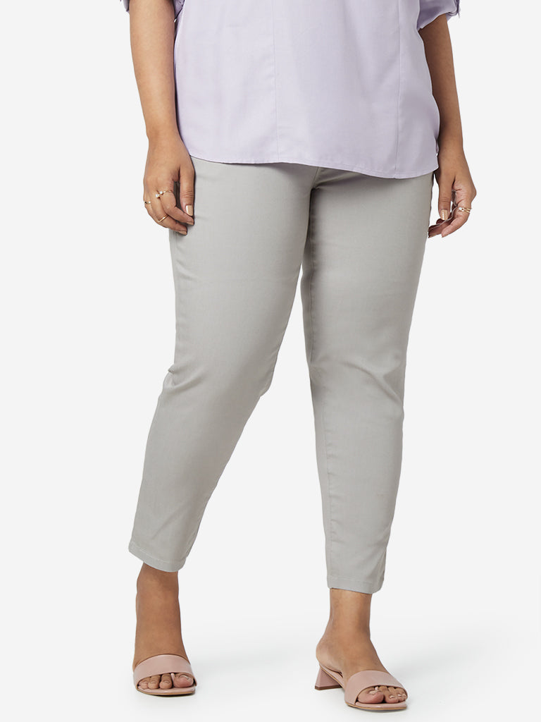Gia Curves Grey Peter Jeans