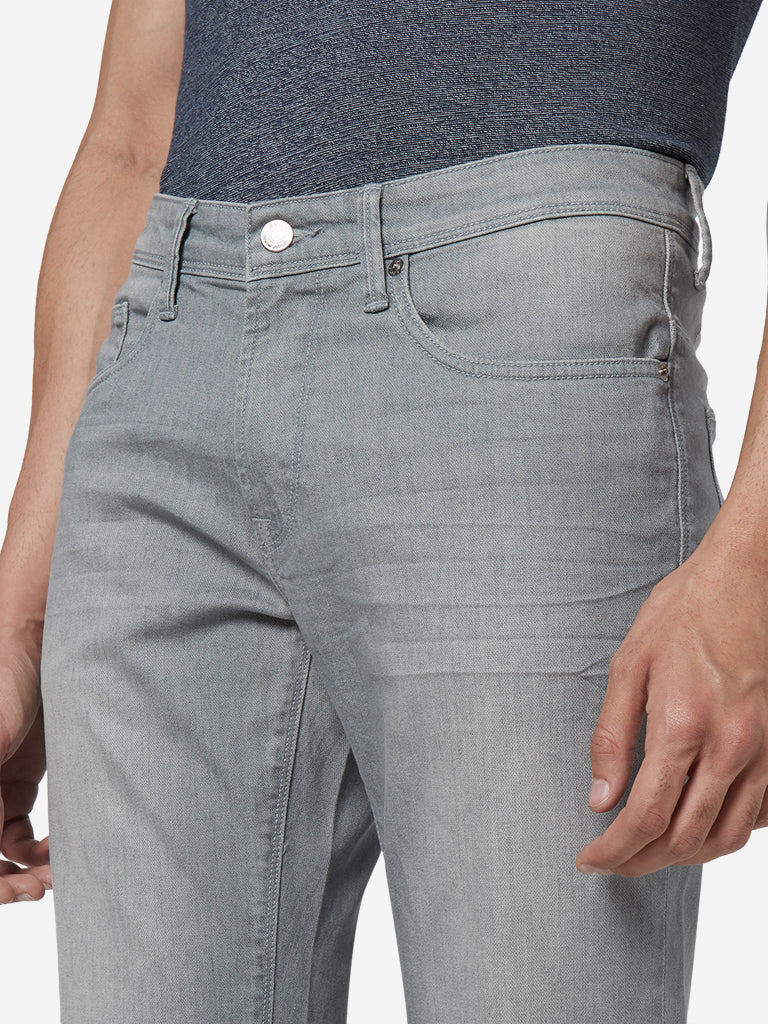 Ascot Grey Relaxed Fit Jeans