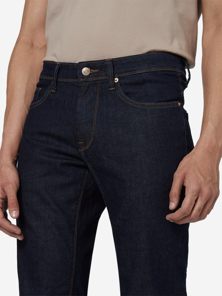 Ascot Dark Blue Relaxed Fit Jeans
