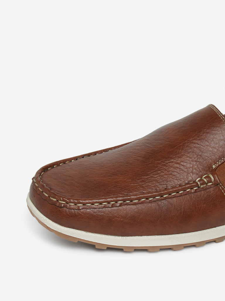 SOLEPLAY Tan Loafers