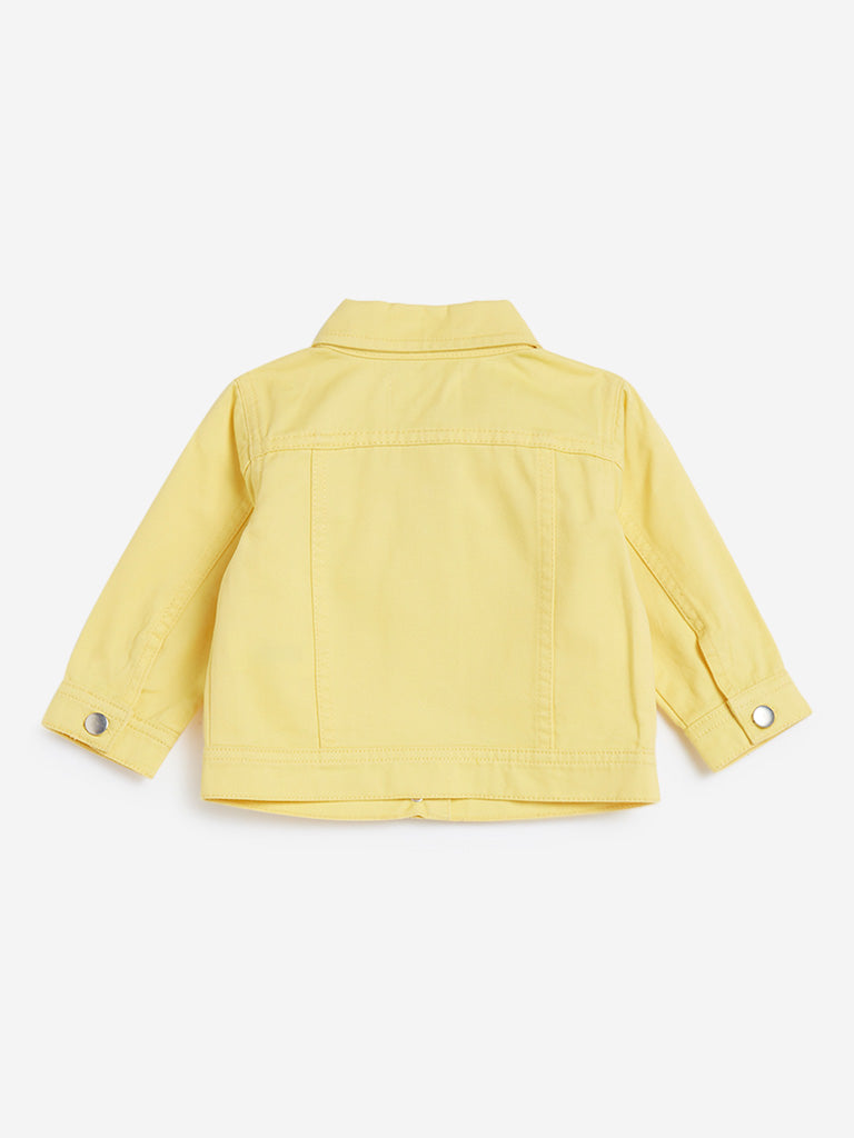 Baby HOP Yellow Denim Jacket