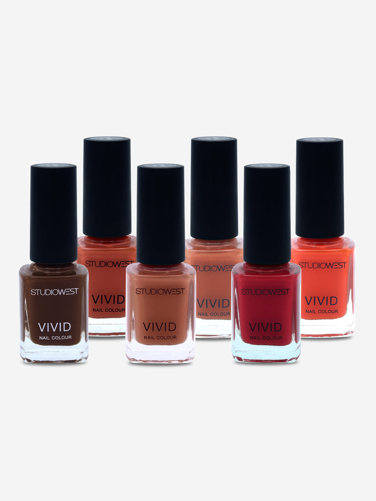 Studiowest Vivid Creme Nail Colour, 02-RS, 9 ml