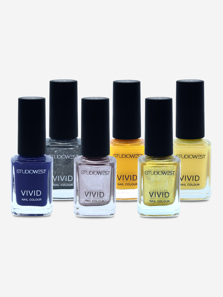 Studiowest Vivid Creme Nail Colour, 02-S, 9 ml